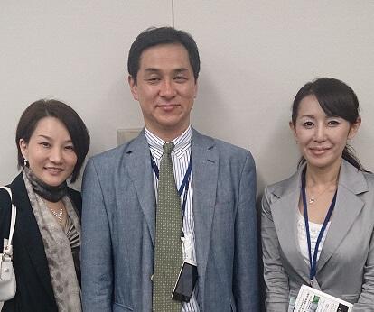 根岸先生 資生堂 佐山さん