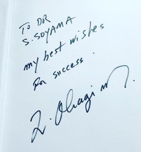 ドクターオバジのサイン