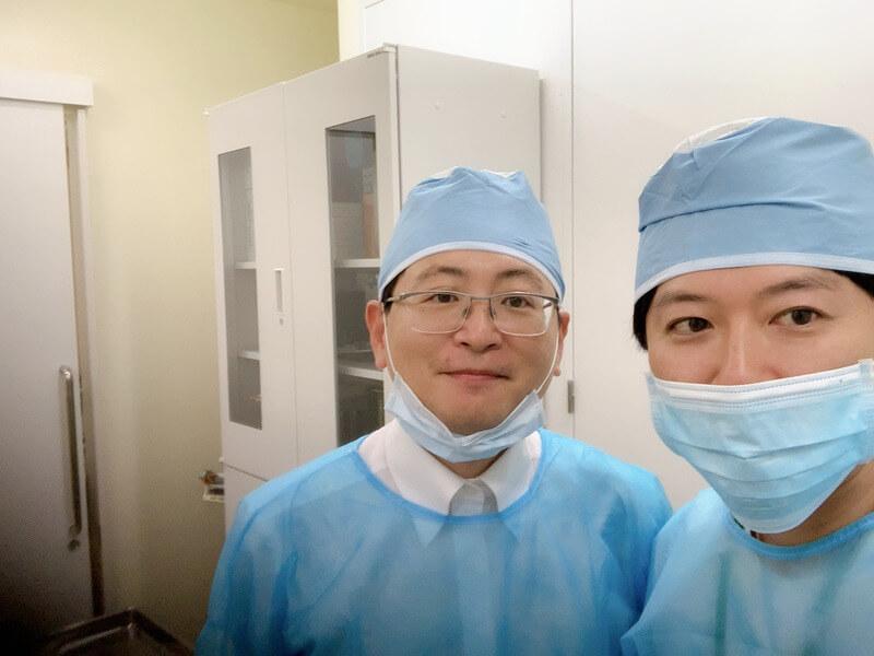 Dr.BaeとDr.曽山浩輔