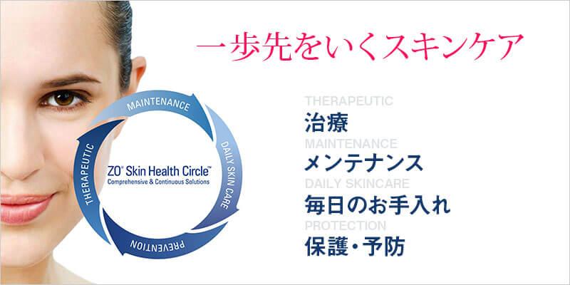 一歩先をいくスキンケア 治療 メンテナンス 毎日のお手入れ 保護・予防